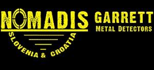Garrett - Nomadis - detektorji kovin